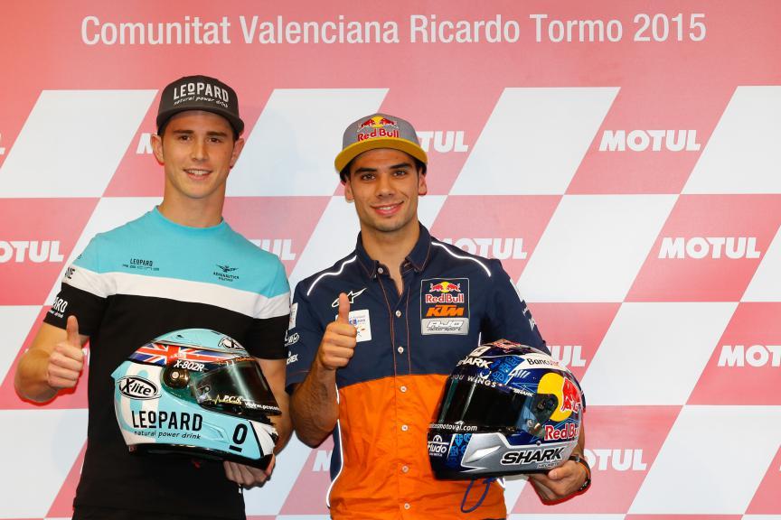 Kent, Oliveira, Gran Premio Motul de la Comunitat Valenciana, Moto3 Press Conference