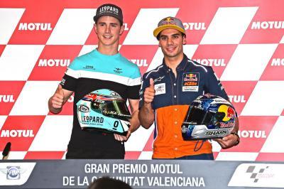 Kent y Oliveira hablan sobre el título de Moto3™