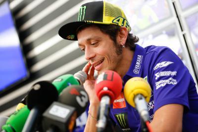 #TheGrandFinale: Rossi, Lorenzo, Marquez & Pedrosa talk