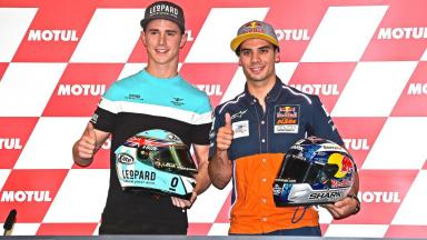 Moto3™ title contenders speak
