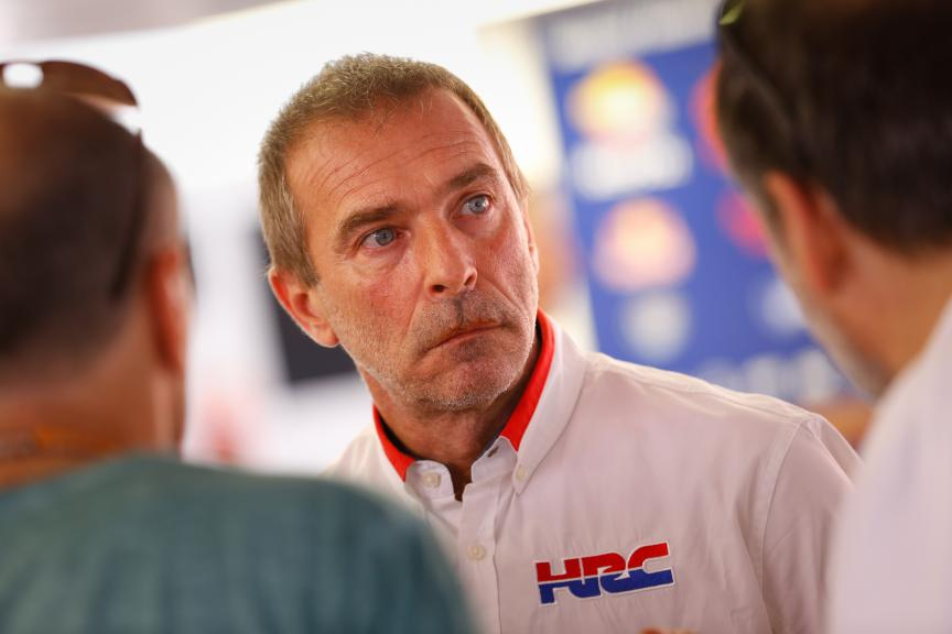 Livio Suppo, Team Principal Repsol Honda Team