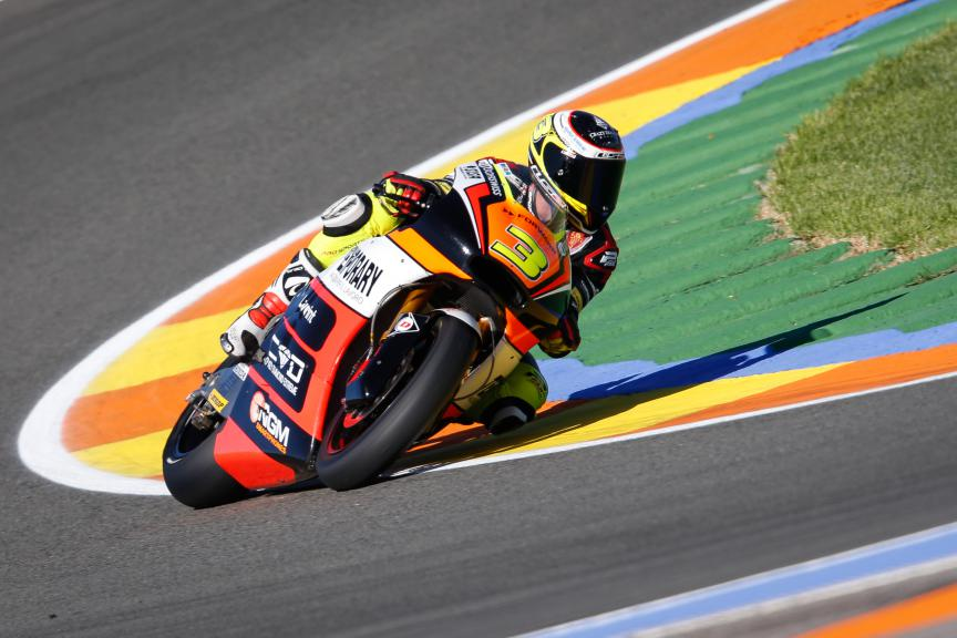 Simone Corsi, Forward Racing, Valencia GP FP2