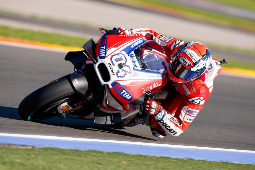 Andrea Dovizioso, Ducati Team, Valencia GP, FP2