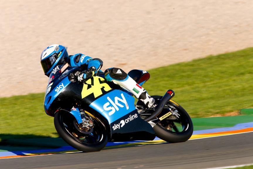 Romano Fenati, SKY Racing Team VR46, Valencia GP, FP2