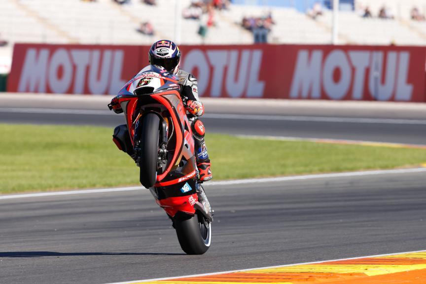 Stefan Bradl, Aprilia Racing Team Gresini, Valencia GP, FP2
