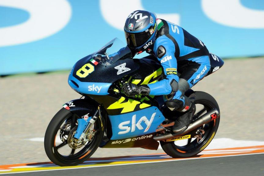 Nicolò Bulega, Sky Racing Team VR46, Valencia GP