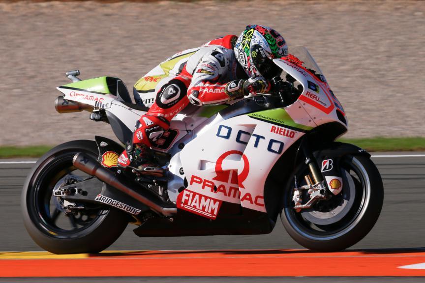 Danilo Petrucci, Octo Pramac Racing, Valencia GP FP2
