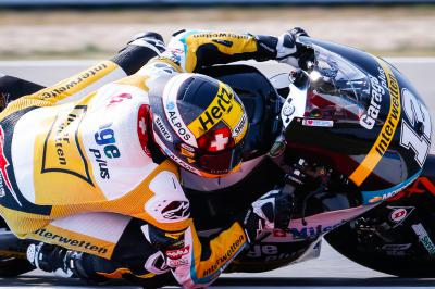 Luthi ends Friday on top in Moto2™
