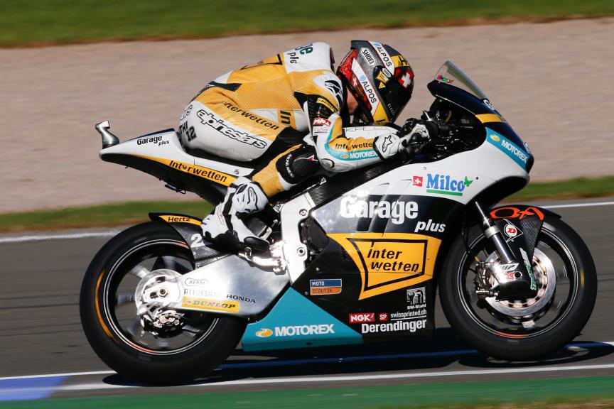 Thomas Luthi, Derendinger Racing Interwetten, Valencia GP FP2