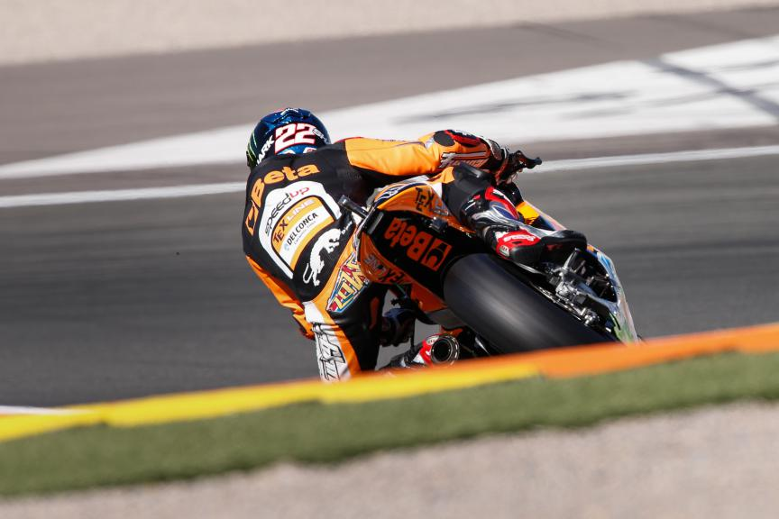 Sam Lowes, Speed Up Racing, Valencia GP FP2