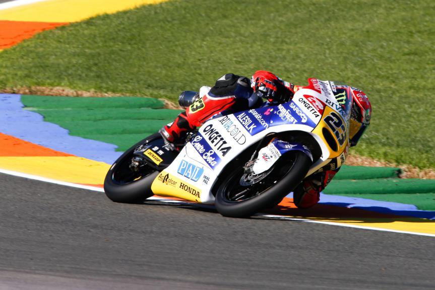 Niccolo Antonelli, Ongetta-Rivacold, Valencia GP, FP2
