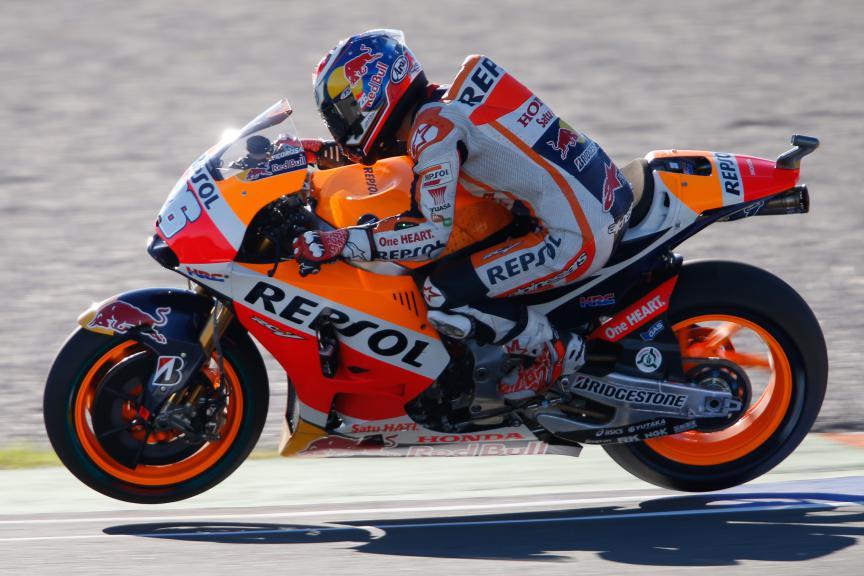 Dani Pedrosa, Repsol Honda Team, Valencia GP, FP2
