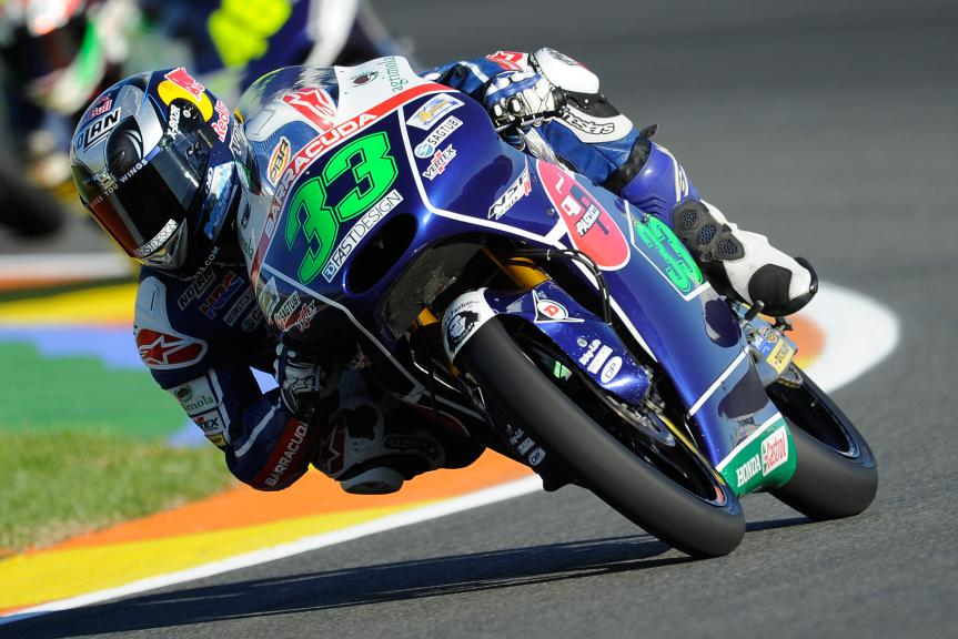 Enea Bastianini, Gresini Racing Team Moto3, Valencia GP