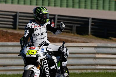 "Crutchlow: ""I was working a lot on the set-up"""