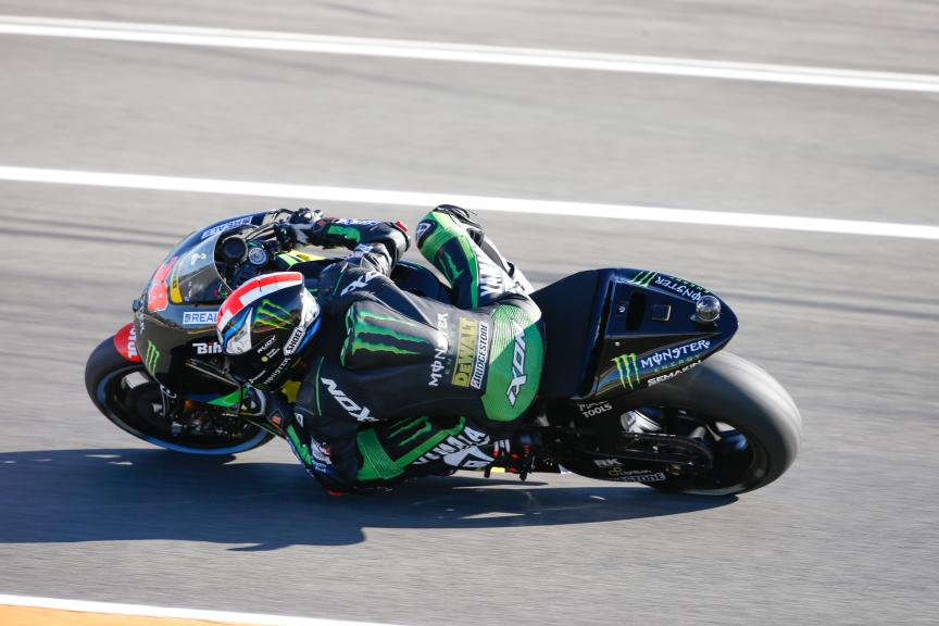Bradley Smith, Monster Yamaha Tech 3, Valencia GP, FP2