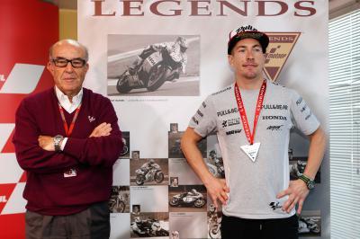Nicky Hayden wird MotoGP™ Legende