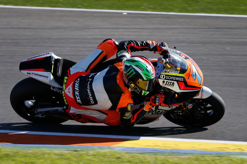 Lorenzo Baldassarri, Forward Racing, Valencia GP