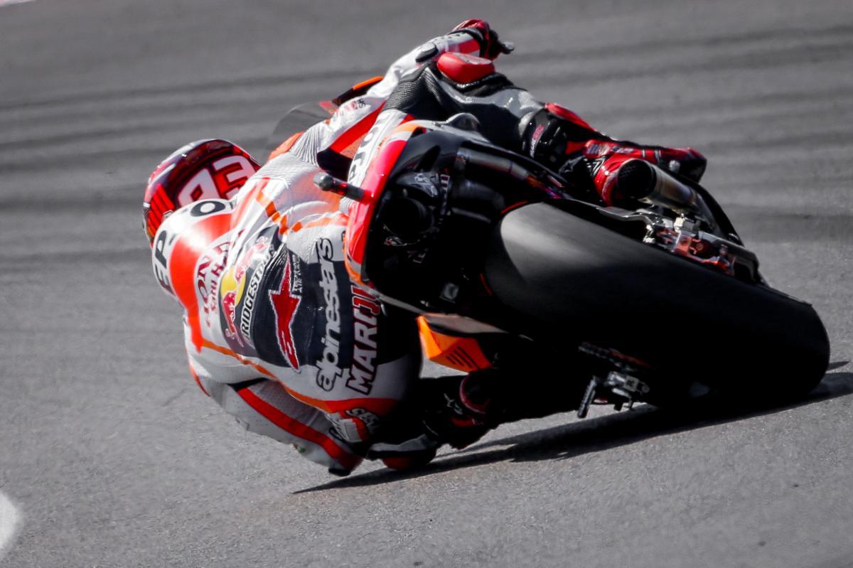 Marquez starts quickest in FP1 | MotoGP™