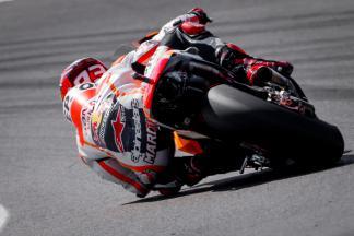 Márquez mais forte na FP1 de MotoGP™