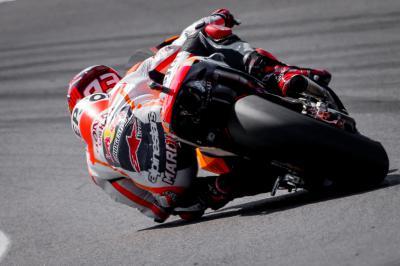 Márquez se impone en la FP1 de MotoGP™