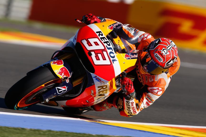 Marc Marquez, Repsol Honda Team, Valencia GP, FP2