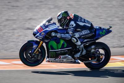 Lorenzo führt am Freitag in Valencia
