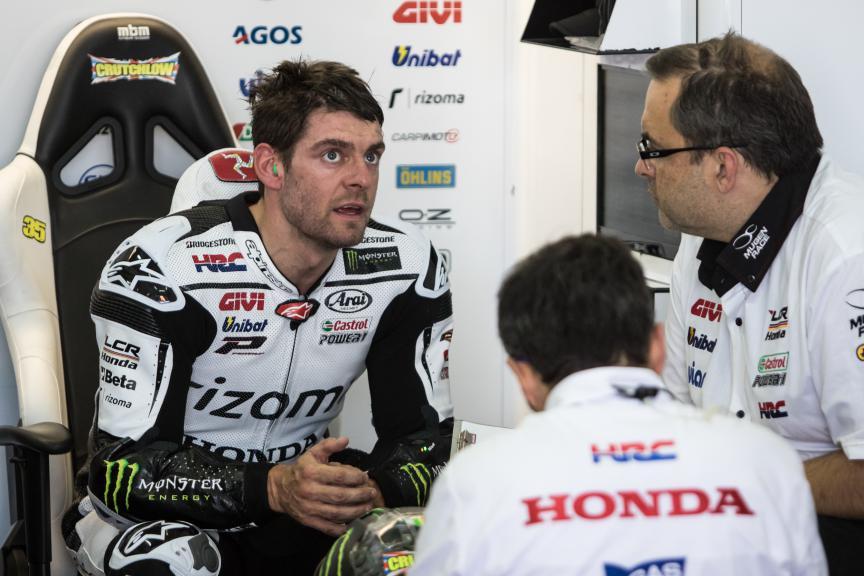 Cal Crutchlow, LCR Honda, Valencia GP FP2