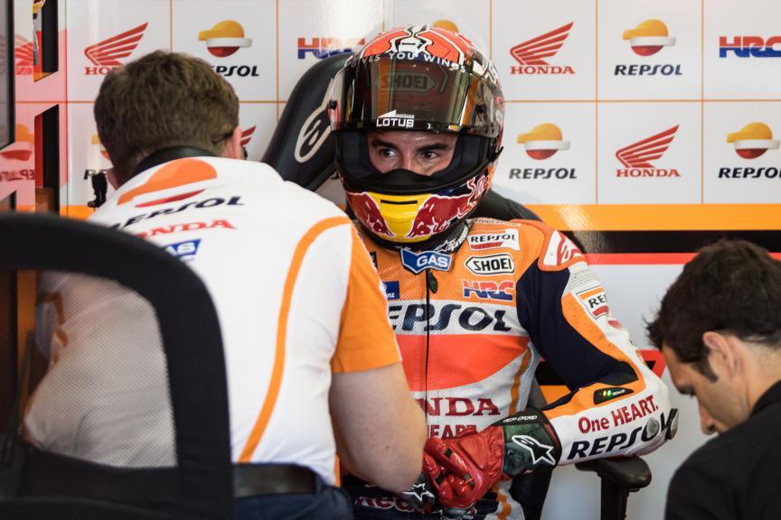 Marc Marquez, Repsol Honda Team, Valencia GP FP2