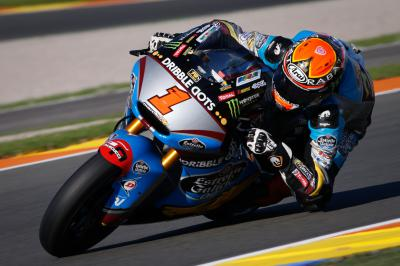 Remarkable Rabat takes pole ahead of Moto2™ farewell