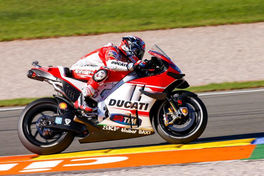 Andrea Dovizioso, Ducati Team, Valencia GP, Q2