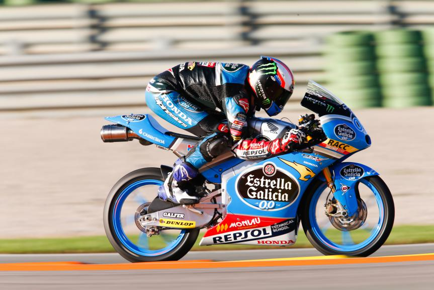 Jorge Navarro, Estrella Galicia 0,0, Valencia GP QP