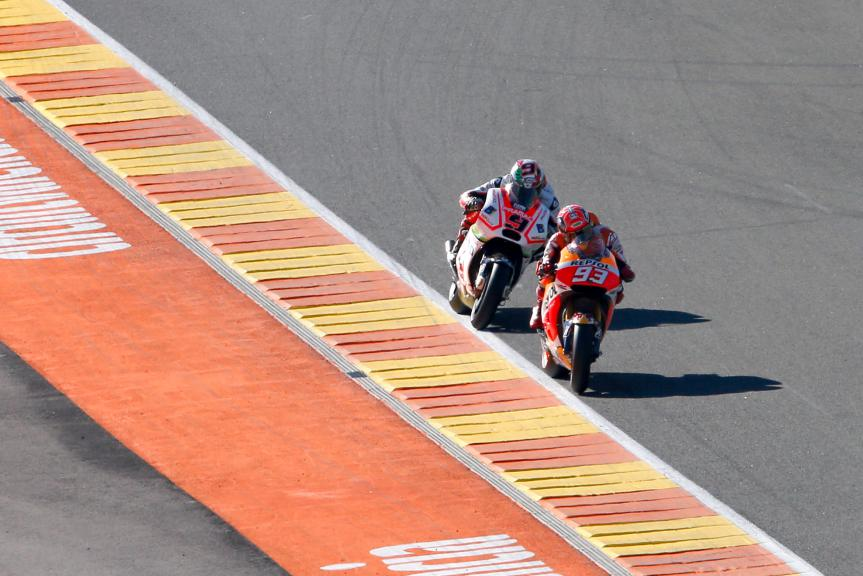 MotoGP Action, Valencia GP Q2