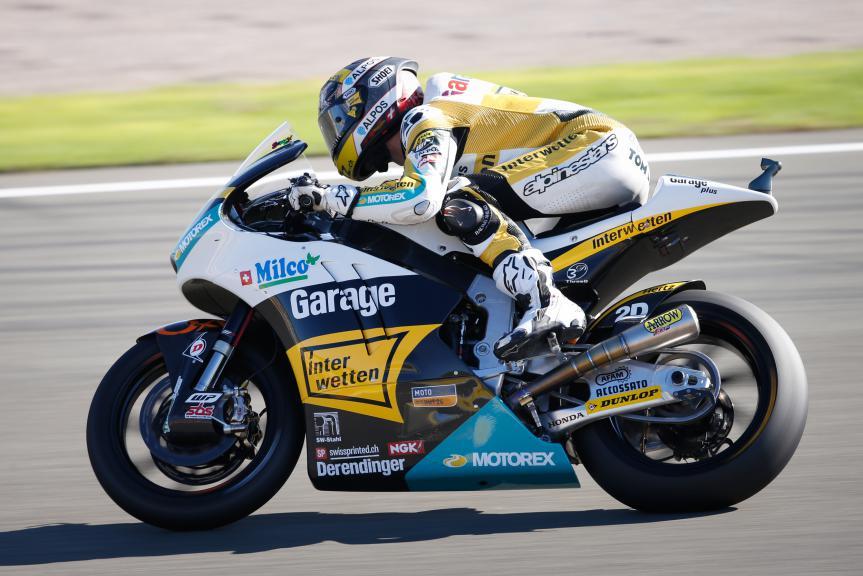 Thomas Luthi, Derendinger Racing Interwetten, Valencia GP FP3