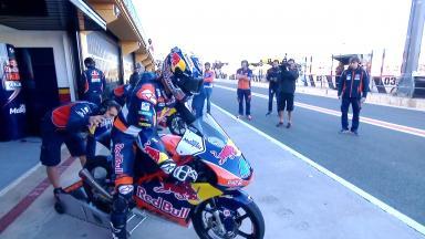 #ValenciaGP Moto3™ 3. Freies Training