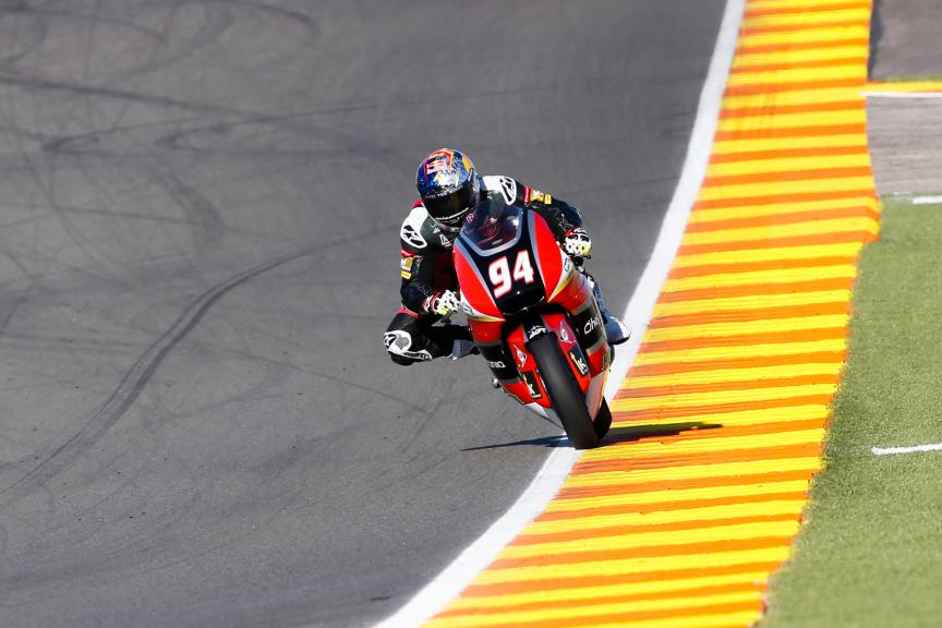 Jonas Folger, AGR Team, Valencia GP QP