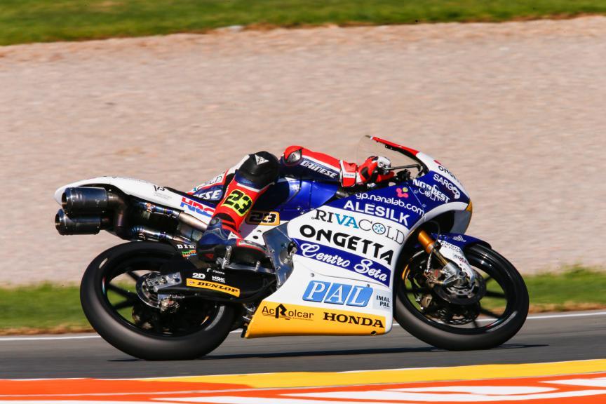 Niccolo Antonelli, Ongetta-Rivacold, Valencia GP QP