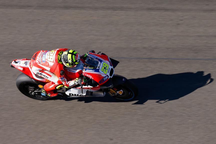 Andrea Dovizioso, Ducati Team, Valencia GP Q2