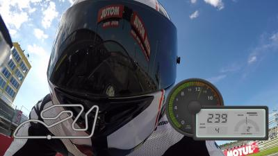 GoPro™ OnBoard lap of Valencia