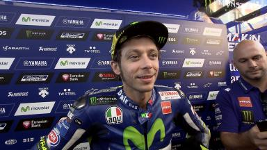 Rossi: 'Not a big difference for tomorrow'
