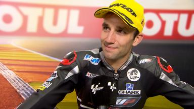 Zarco: 'Tito shows very good pace'