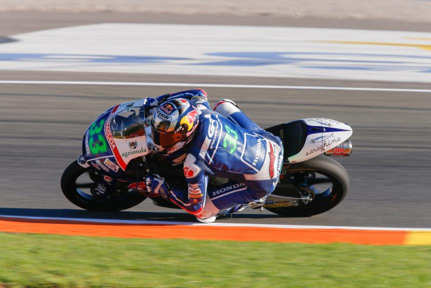 Enea Bastianini, Gresini Racing Team Moto3, Valencia GP QP