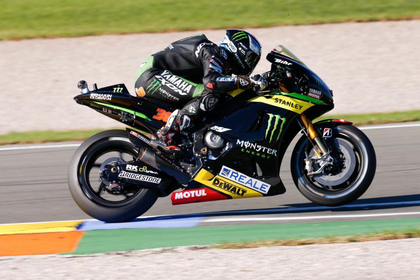 Bradley Smith, Monster Yamaha Tech 3, Valencia GP Q2