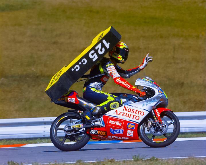 Valentino Rossi. Brno 1997