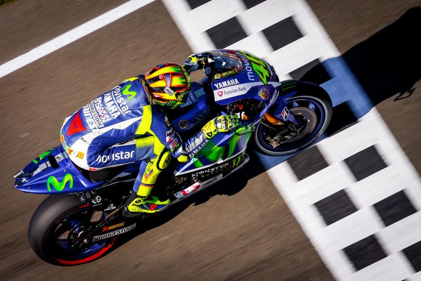 Valentino Rossi, Movistar Yamaha MotoGP, Valencia GP Q2