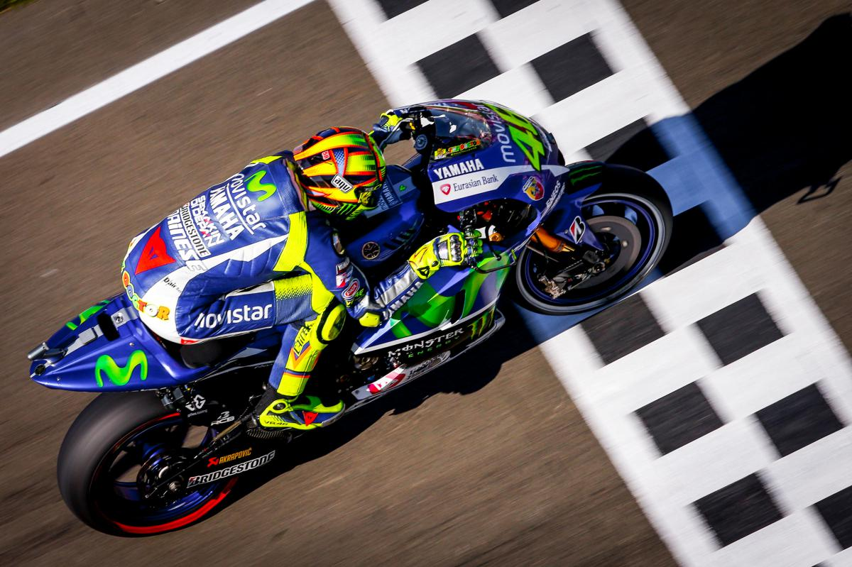 "Rossi: ""I suffered a bit more with the grip"" 