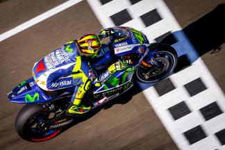 """Rossi: """"I suffered a bit more with the grip"""""""