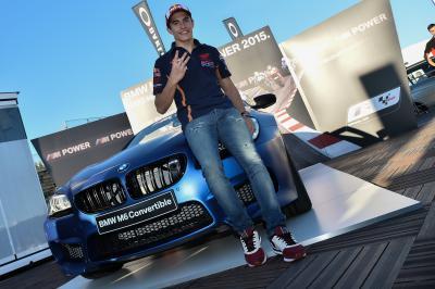Márquez remporte le BMW M Award 2015