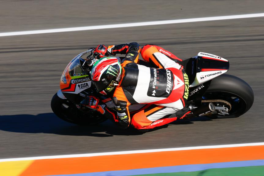 Lorenzo Baldassarri, Forward Racing, Valencia GP QP