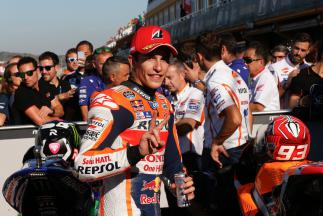 "Marquez: ""There is not much between us"""