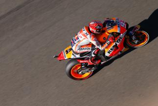 Marquez shows race pace by topping FP4